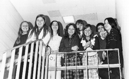 1974 Student Council Officers